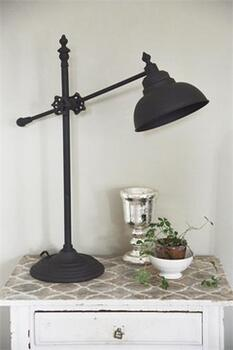 Bordlampe - Justerbar Arm - Metal