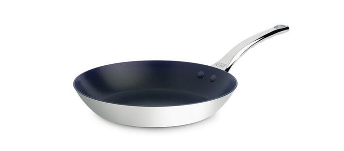 Rustfrit stål non-stick pande