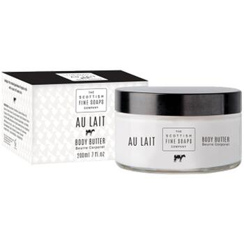Au Lait Body Butter i glaskrukke