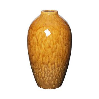 VASE 'INGRID' L KERAMIK APPLE CINNAMON