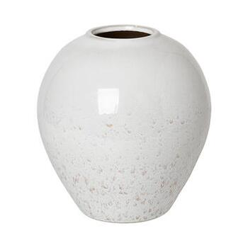 VASE 'INGRID' M KERAMIK RAINY DAY/INDIAN TAN